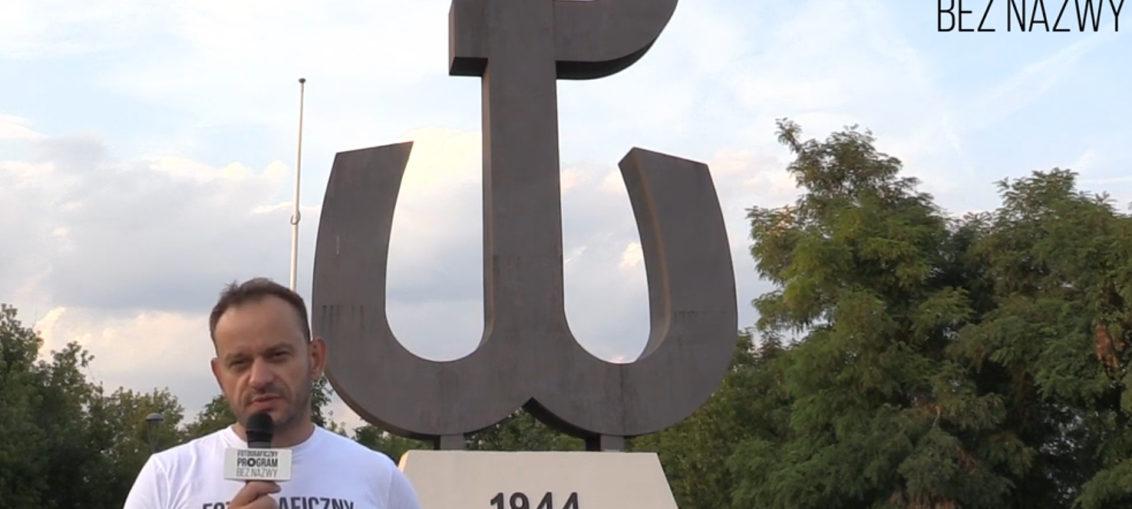 Moje zdjęcie z obchodów 75. rocznicy Powstania Warszawskiego