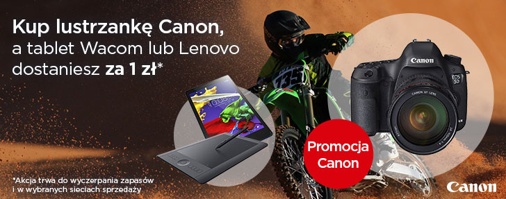 Promocja Canon